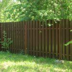 Наши работы - Забор штакетник