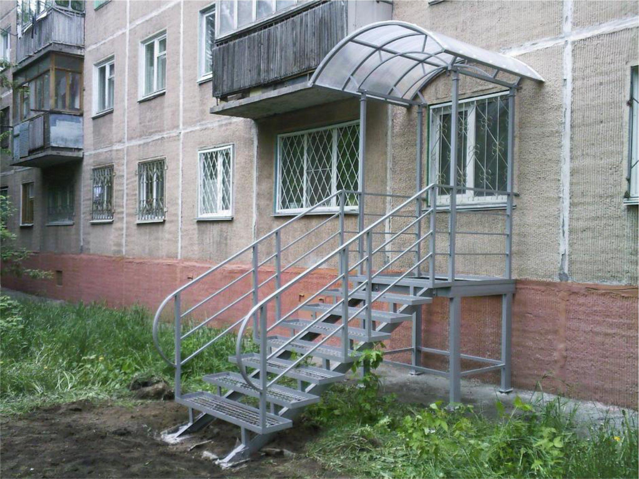 Отдельный вход в квартиру (жилое помещение) без перевода в нежилое 51