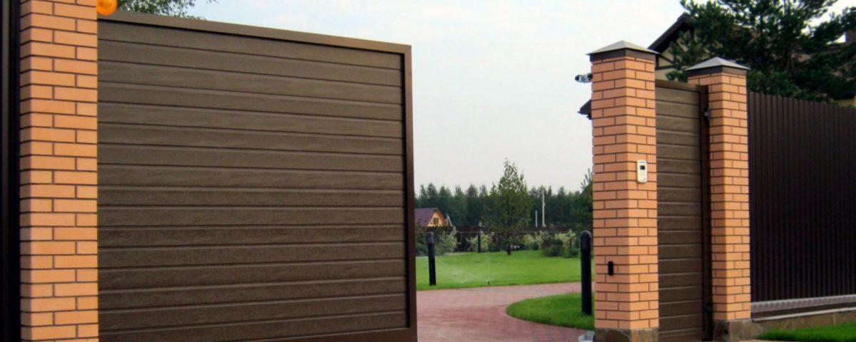 Откатные ворота в Твери 2