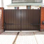 Распашные ворота в Твери