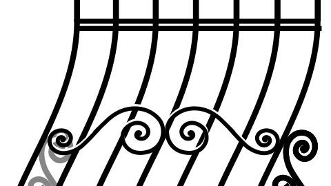 Проект решетки на окно