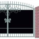 Проект ворот